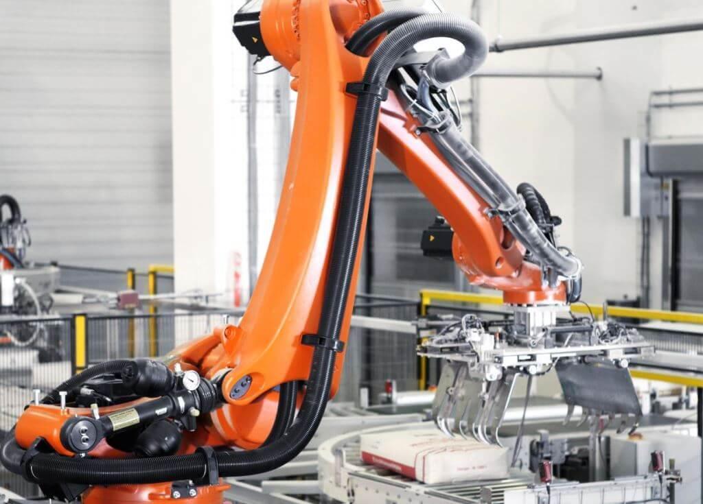 паллетизация роботом 4