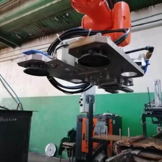 Пневматический захват для роботизированного комплекса