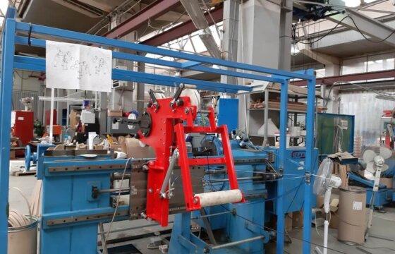 Оснащения намоточного станка узлом натяжения провода для производства овальным обмоток трансформаторов